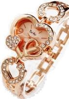 Bel Air Bel-Air Women's Triple Heart Wrist Watch Quartz Type Wrist Watch Pink Gold Women's