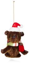 Bloomingdale's Santa Bear Ornament - 100% Exclusive