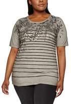 Via Appia Women's U-Boot 1/2 Arm Motiv T-Shirt