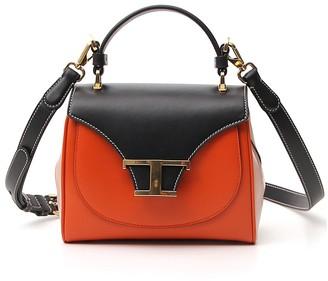 Tod's Contrast Colour Crossbody Bag