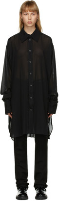 Ann Demeulemeester SSENSE Exclusive Black God of Wild Alexis Shirt