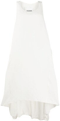 Jil Sander Scoop Neck Dress