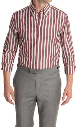 Reiss Hanna Block Stripe Regular Fit Shirt