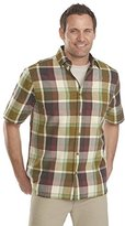 Woolrich Men's Red Creek Short Sleeve Modern Fit Shirt