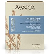 Aveeno Soothing Bath Treatment, 8 Count, net wt. 1.5oz.