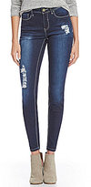 YMI Jeanswear Destructed Luxe Skinny Jeans