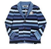 Tagliatore Junior Striped Cotton Jacket