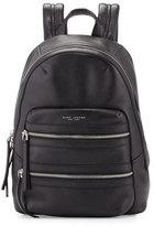 Marc Jacobs Leather Biker Backpack, Black