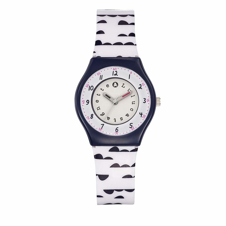 Lulu Castagnette Girls Analogue Quartz Watch with Plastic Strap 38791