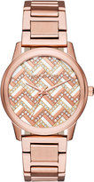 MICHAEL Michael Kors 38mm Hartman Glitz Bracelet Watch