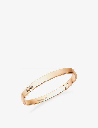 Chaumet Liens Evidence 18ct rose-gold and diamond bracelet