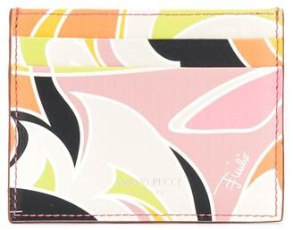 Emilio Pucci Quirimbas print cardholder