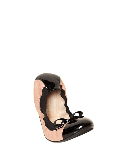 Salvatore Ferragamo 10mm My Paris Calfskin Flats