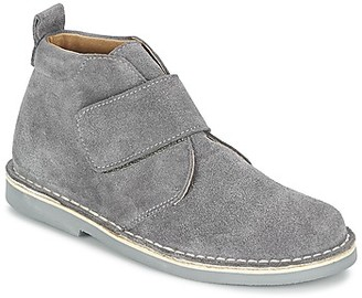 Citrouille et Compagnie AINREN girls's Mid Boots in Grey