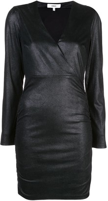 LIKELY fitted V-neck dress