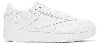 Reebok Classics White Club C Double Sneakers