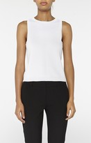 Nicole Miller Knit Crew Neck Tank Top