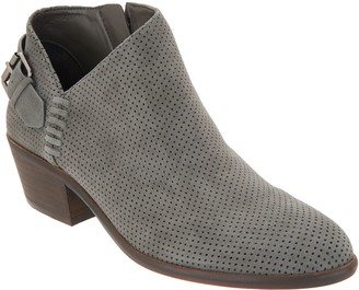 Vince Camuto Suede Booties with Buckle Detail - Parveen