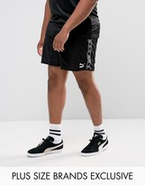 Puma Plus Retro Football Shorts In Black Exclusive To Asos 57658003