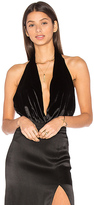 The Jetset Diaries Saskia Bodysuit in Black. - size L (also in )