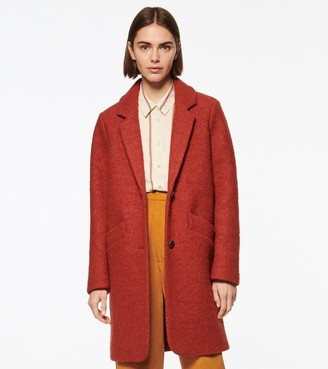 Andrew Marc PAIGE WOOL BOUCLE COAT