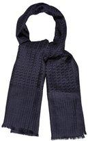 Aquascutum London Silk & Wool-Blend Scarf