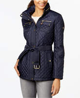 MICHAEL Michael Kors Hooded Quilted Puffer Coat
