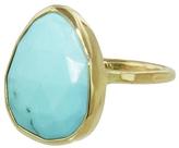 Melissa Joy Manning Bezel Turquoise Cabochon Ring