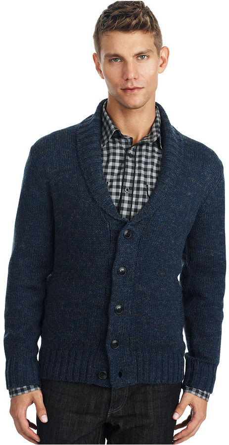 Kenneth Cole Reaction Sweater, Shawl Collar Cardigan