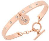 BCBGeneration Say My Name Glass Stone S Toggle Bracelet