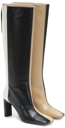 Wandler Isa leather knee-high boots
