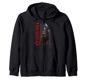 Star Wars Rouge One C2-B5 Faded Name Portrait Zip Hoodie