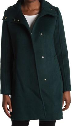 Cole Haan Long Wool Winter Coat