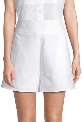 story. White A-Line Short