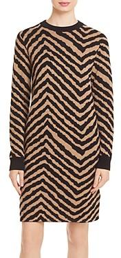 HUGO BOSS Fadrella Printed Sweater Dress