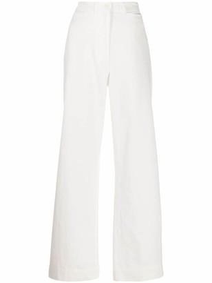 Margaret Howell Naval wide-leg trousers