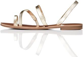 Find. Amazon Brand Womens Multi-Strap Flat Gladiator Sandals