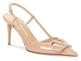 Valentino Women's Slingback High-Heel Pumps