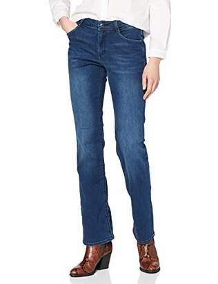 S'Oliver women 04.899.71 bootcut jeans, blue ( 57z4), W26 (manufacturer size: 34 / L34)