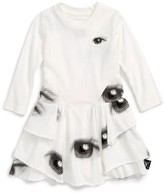 Nununu Infant Girl's Layered Eye Dress