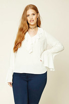 Forever 21 Plus Size Flounce Top