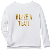 Kate Spade Blaze A Trail Tee (Toddler & Little Girls)