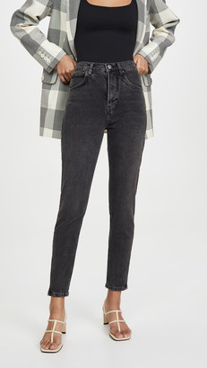 Reformation 80s Ultra High Cigarette Jeans
