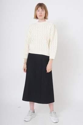 soeur Garoloup Knitted Jumper In Ecru - 1