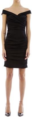 Dolce & Gabbana Draped Silk Dress
