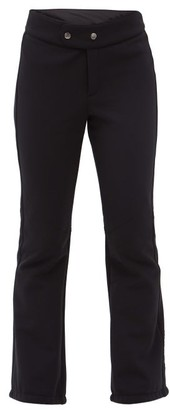Bogner Emilia Flared Soft-shell Ski Trousers - Black