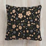 Minted Floral Splash Square Pillow