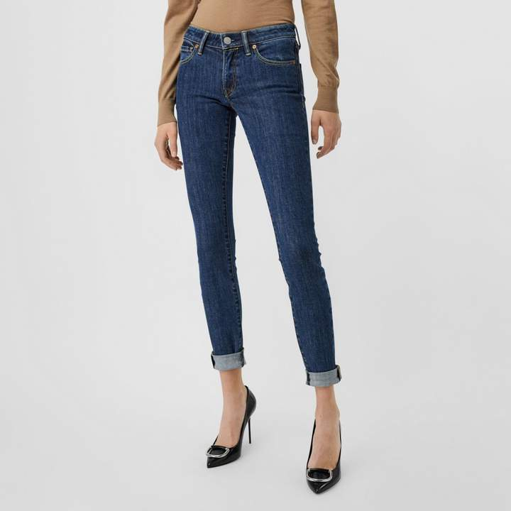 Burberry Skinny Fit Japanese Denim Jeans