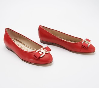 Sam Edelman Leather Ballet Flats - Mage