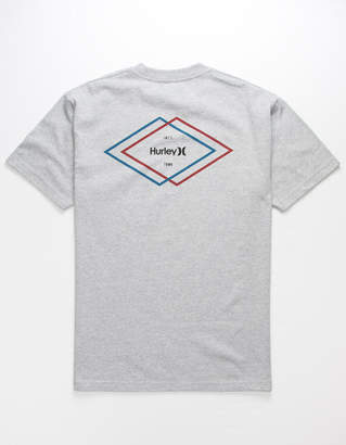 Hurley Double Diamond Mens T-Shirt